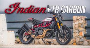 INDIAN MOTORCYCLE REFORÇA A SUA GAMA COM A NOVA VERSÃO FTR CARBON 2020 thumbnail
