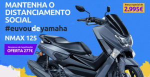 """Campanha Scooters Yamaha – """"EuVouDeYamaha NMAX 125 com a oferta das despesas de legalização"""" thumbnail"""