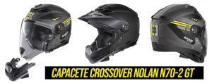 Capacete Nolan N70-2 GT – Design Inconfundível de estilo Crossover thumbnail