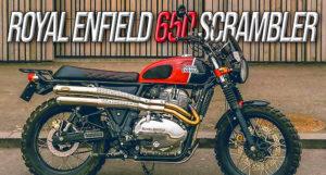 Royal Enfield Scrambler 650 – Uma Edição Limitada já disponível thumbnail