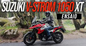 Ensaio da Suzuki V-Strom 1050 Versão XT – Uma Adventure Touring que carrega consigo toda a mística das DR Big do passado thumbnail