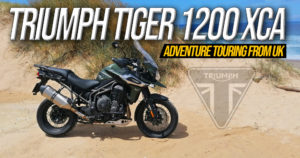 Ensaio Triumph Tiger 1200 XCA 2020 – A Adventure Touring Britânica thumbnail
