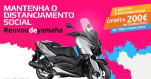"""Campanha Gama XMAX –  """"EuVouDeYamaha e a gasolina é por conta da Yamaha"""". thumbnail"""