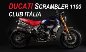 Ducati lança uma Scrambler exclusiva e limitada: Scrambler 1100 Club Italia thumbnail