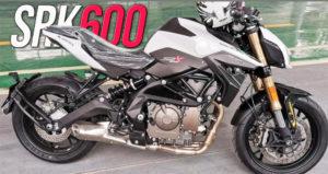Novas imagens da Benelli SRK600, o modelo que virá substituir a actual TNT600 thumbnail
