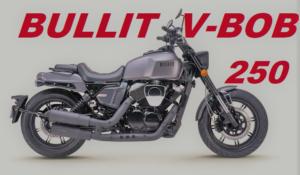 Bullit V-Bob 250: uma cruiser para deslocações diárias thumbnail