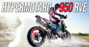 A Ducati apresenta a nova versão Hypermotard 950 RVE thumbnail
