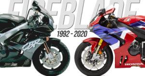 Honda Fireblade Heritage – 14 Gerações que construiram a História de um Icon thumbnail