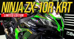 Kawasaki lança uma Edição Limitada a 10 unidades da Ninja ZX-10R KRT thumbnail
