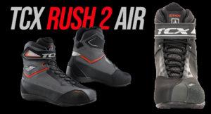 Botas TCX Rush 2 Air – estilo, conforto e a ventilação para tornar os seus passeios mais agradáveis. thumbnail