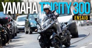 Ensaio da nova Yamaha Tricity 300 – Segurança, Facilidade e Potência. thumbnail