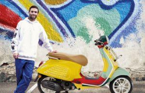 Espírito 'vintage' na nova Vespa Primavera Sean Wotherspoon thumbnail