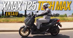 Ensaio Yamaha XMAX 125 Versão Especial Tech Max de 2020 – Luxo e Estética Desportiva thumbnail