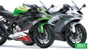 Kawasaki – As novas cores das Ninja ZX-6R KRT Edition e ZX-6R 2021 thumbnail