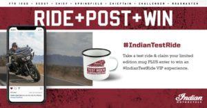 Campanha – Participe num test-ride da Indian e ganhe uma viagem à Europa thumbnail