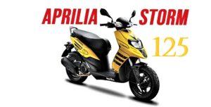 Grupo Piaggio lança a Aprilia Storm 125 na India thumbnail