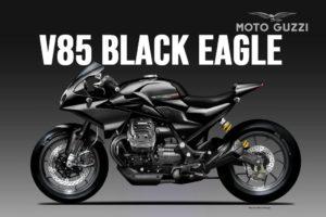 Moto Guzzi V85 Black Eagle, uma ótima ideia! thumbnail
