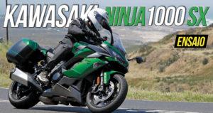 Ensaio Kawasaki Ninja 1000 SX Tourer – O melhor de dois mundos thumbnail