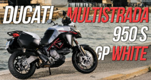 "Nova cor ""GP White"" para a Ducati Multistrada 950 S thumbnail"