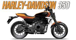 Harley-Davidson HD 350 mais perto da conclusão e com ligeiras alterações thumbnail
