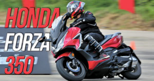 Honda apresentou a nova Forza 350 na Tailândia thumbnail