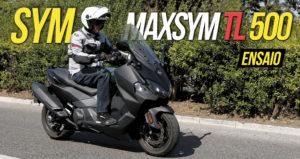 Ensaio SYM Maxsym TL 500 – Uma sedutora maxi! thumbnail