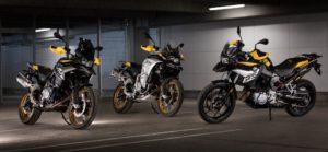 BMW F 750 GS, F 850 GS e F 850 GS Adventure com novas cores e mais equipamento thumbnail