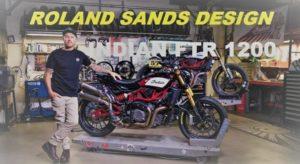 Linha de acessórios RSD para a desportiva Indian FTR 1200 thumbnail