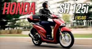 Ensaio Honda SH 125i – Nascida para a cidade thumbnail