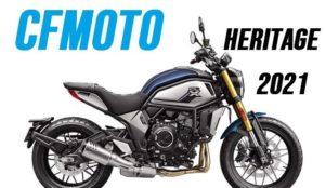 CFMoto 700 Heritage – Uma moderna roadster urbana thumbnail