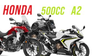 Carta A2 – Trio Honda 500cc com novas cores e homologação Euro 5 thumbnail