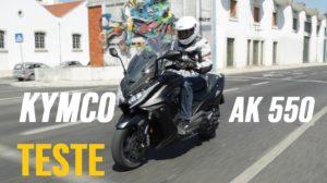 Teste Kymco AK 550: Uma maxi-scooter top thumbnail