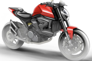 Os primeiros esboços da Ducati Monster 821 2021 thumbnail