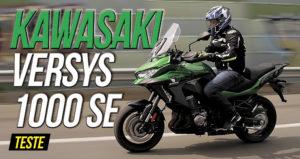 Teste Kawasaki Versys 1000 SE: Uma preciosidade rara! thumbnail