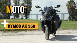 Teste Vídeo Kymco AK 550 – A cereja no topo do bolo thumbnail