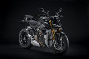 Ducati Streetfighter V4 na fulminante cor Dark Stealth thumbnail