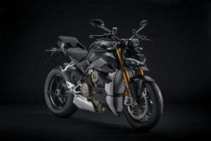 Ducati Streetfighter V4 com Euro 5 e nova cor Dark Stealth thumbnail