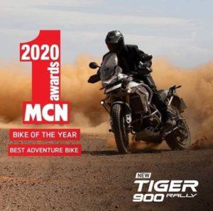 Prémios MCN 2020 – Triumph Tiger 900 Rally Pro: Moto do Ano e Melhor Moto de Aventura thumbnail