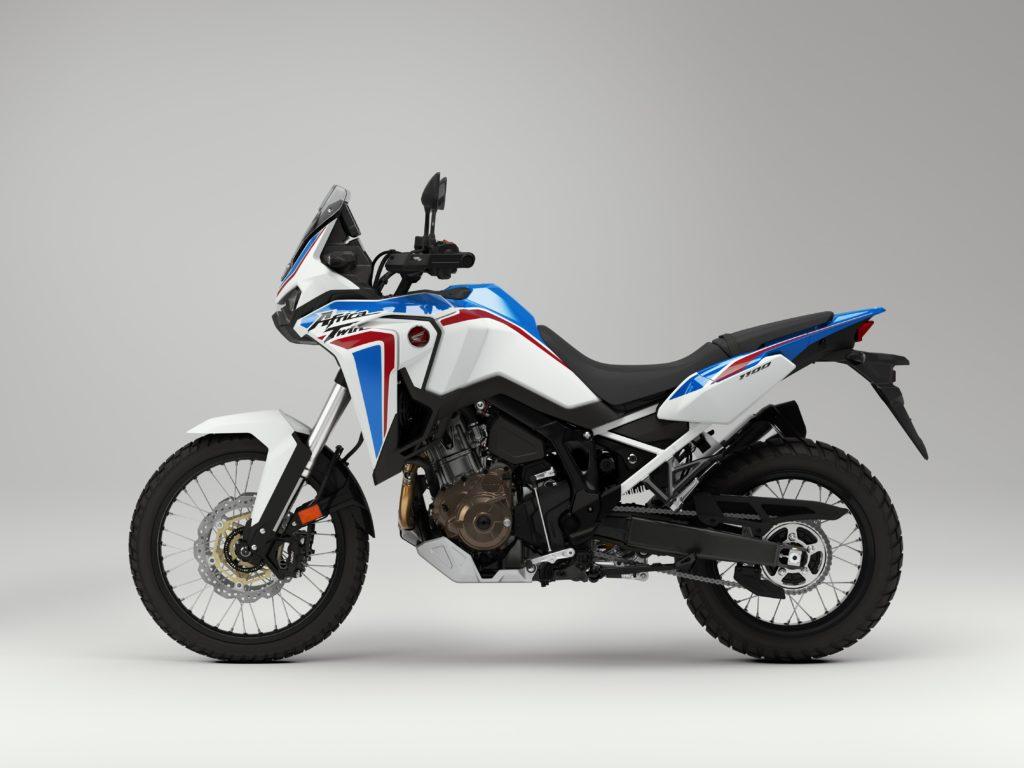 Honda Crf 1100l Africa Twin 2021 Com As Cores Originais Do Dakar Motomais