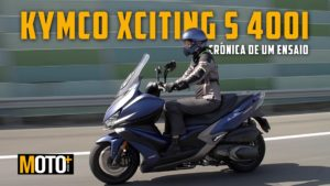 A excitante Kymco Xciting s400i em modo crónica (video) thumbnail