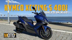 A excitante Kymco Xciting s400i em modo crónica thumbnail