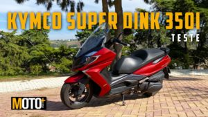 Kymco Super Dink 350i, um motor surpreendente (video) thumbnail