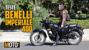 Teste Benelli Imperiale 400, A máquina do tempo thumbnail