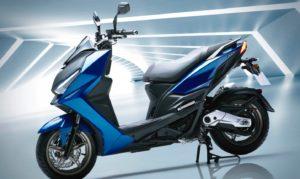 Kymco KRV – Nova scooter compacta e desportiva thumbnail
