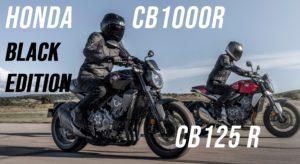 Honda – Mudanças na CB1000R/CB125R e nova CB1000R Black Edition thumbnail