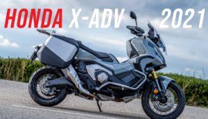 Honda – Uma nova X-ADV mais poderosa e melhor equipada para 2021 thumbnail