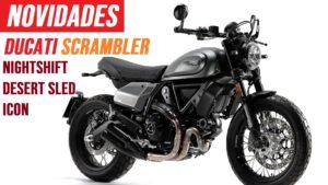 Ducati – Nova Scrambler Nightshift e diferentes cores para a Desert Sled e Icon thumbnail