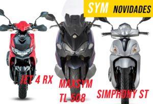 SYM – Novas Symphony, Jet 4 RX e Maxsym TL 2021 thumbnail