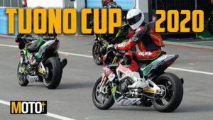 Aprilia Tuono Cup, racing the dream (Video) thumbnail
