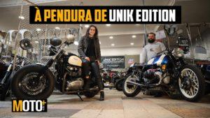 À Pendura de…Unik Edition Motorcycles – por Diana Amaral (Vídeo) thumbnail